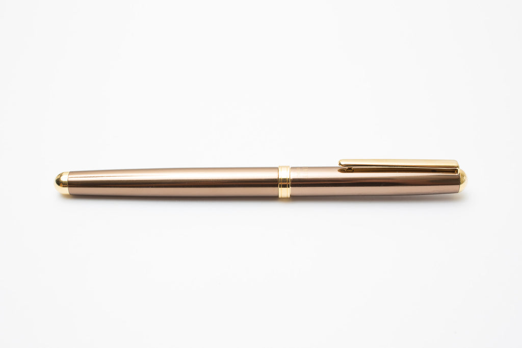 Ohto Liberty Ceramic Roller Ball Pen Middle Axis - Brown
