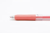 Zebra Sarasa Push Clip Gel Pen - Milk Red