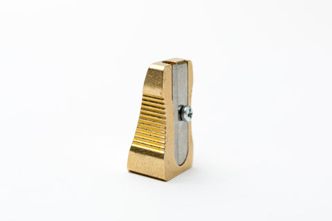 Brass Sharpener: wedge single