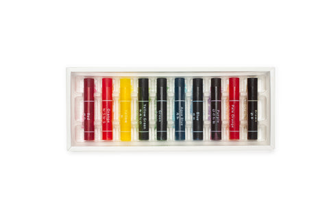 Kokuyo Transparent Crayon - 10 Colors