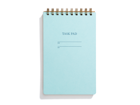 Task Pad Notebook - Pool