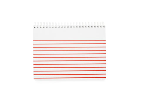 Spiral Sketch Pad - Poppy