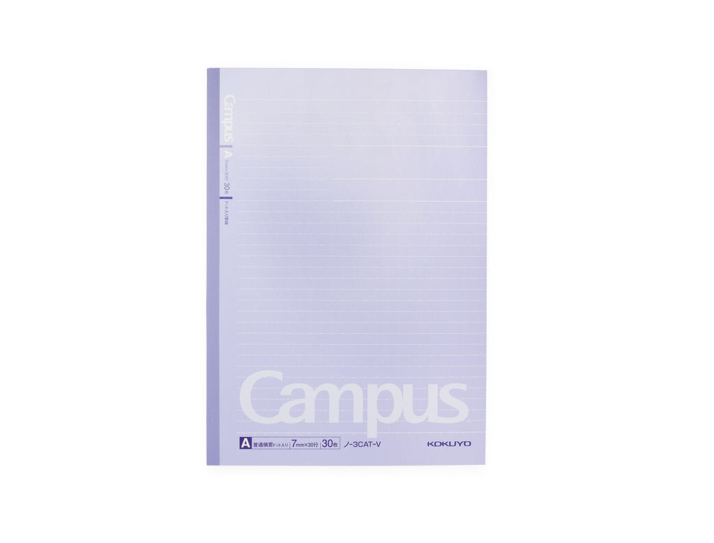 Kokuyo Dotted Line B5 Campus Notebook (Purple)