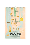 2020 City Maps Wall Calendar