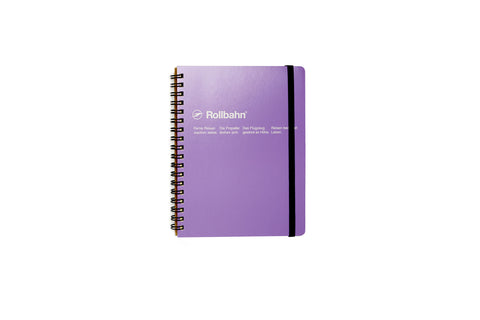 Rollbahn Spiral Notebook: Light Purple