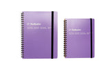 Rollbahn Spiral Notebook: Light Purple (A5)
