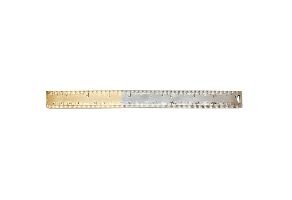 Gold Handled Ruler