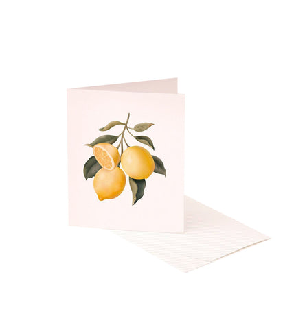 Scented Card - Lemon