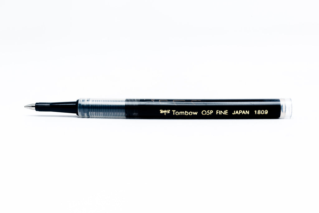 Rollerball Pen Refill, .5mm, Black