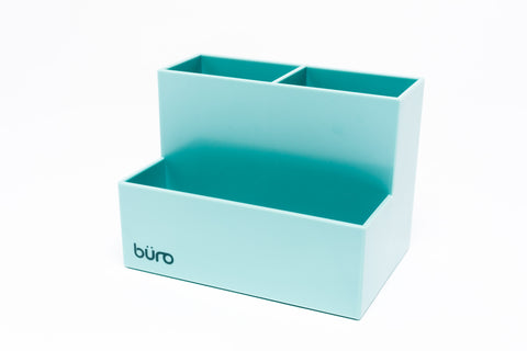 Büro Desk Organizer - Blue Grey