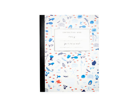 Composition Notebook - Underwater Garden