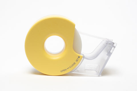 Kokuyo Tape Dispenser Karu-Cut - Yellow