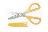 Kokuyo Glueless Saxa Scissors - Yellow