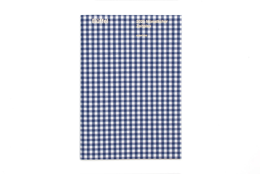 B6 Monthly Papillon Blue Gingham