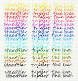 Staedler Tri-Plus Marker Set