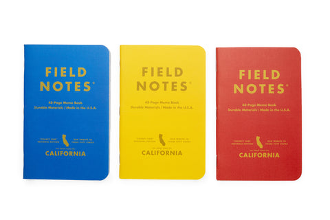 Field Note Limited Edition Notebooks - County Fair California