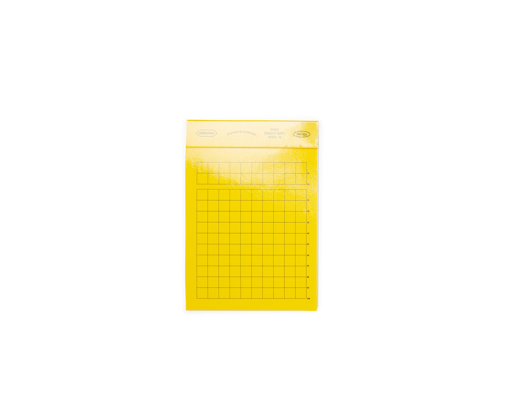 Editors Memo Pad - Gridded