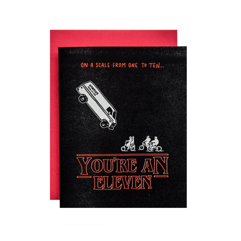 You're an Eleven (Stranger Things) card