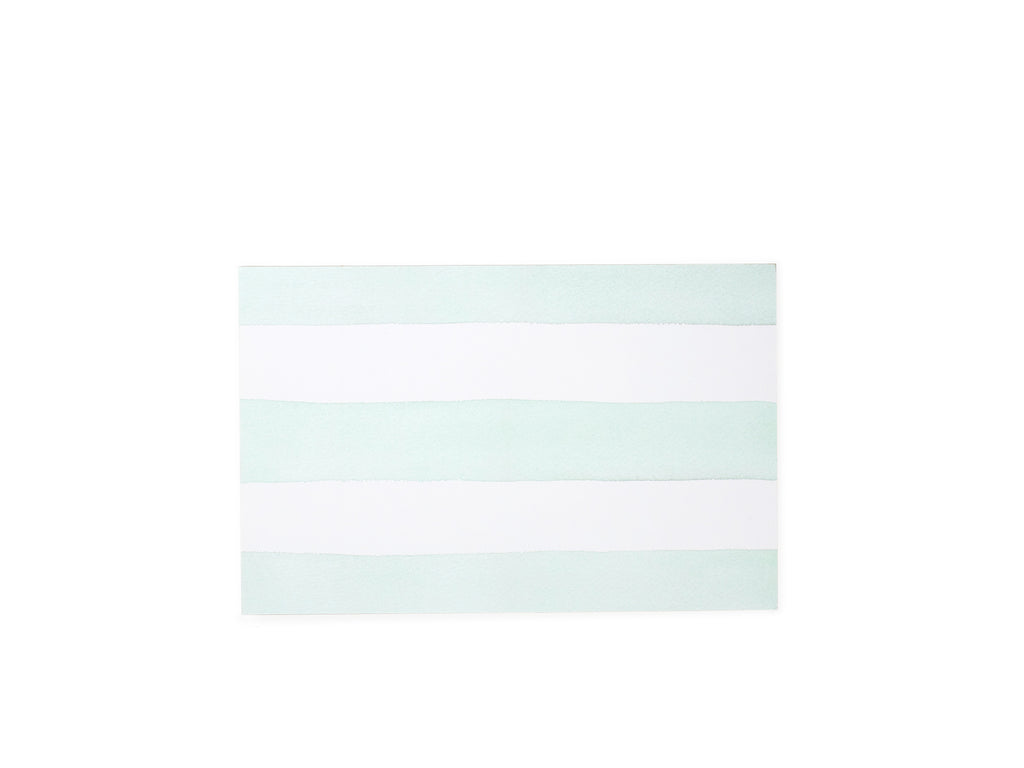 Green Stripes Notepad