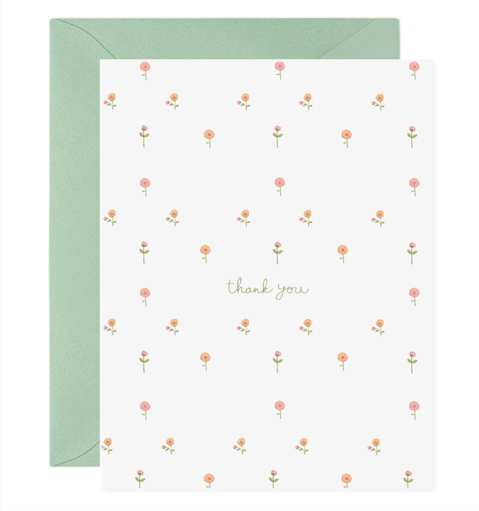 Little Flowers card