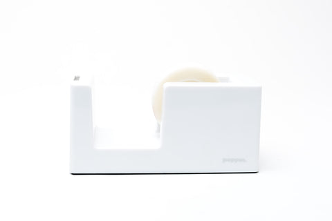Poppin Tape Dispenser: White