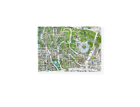 Echo Park Map Card