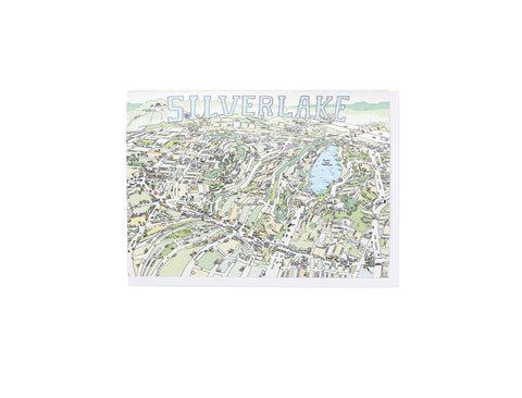 Silverlake Map Card