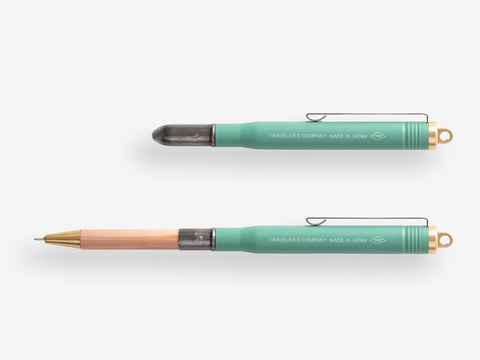 Midori Brass Pen: Green (Limited Edition)