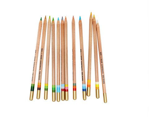 Tri-tone Colored Pencils Set