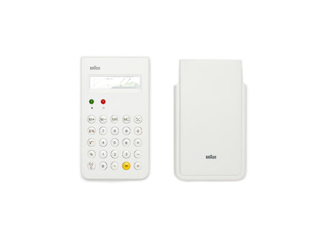 Braun Calculator White