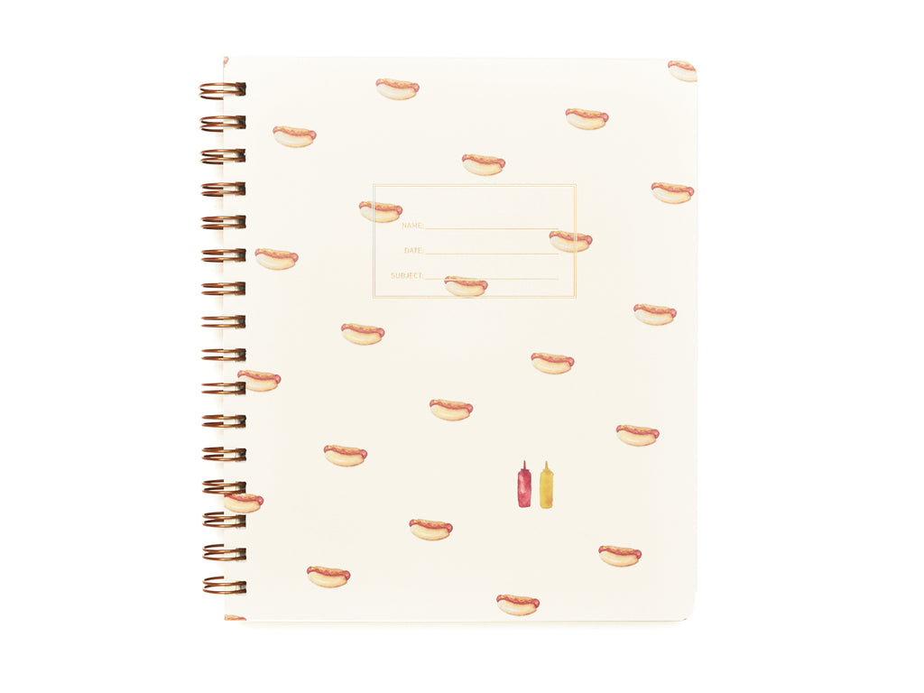 Standard Notebook - Hot Dog Cover