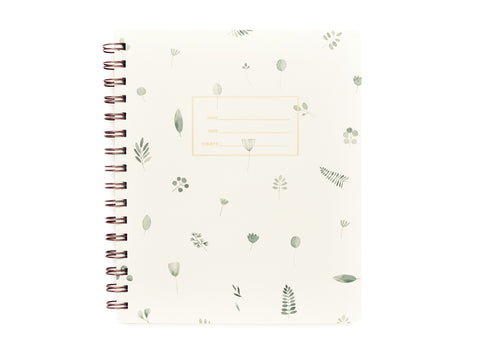 Standard Notebook - Plants Cover