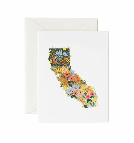 California Wildflowers Card