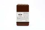 Grain Memo Pad: Dark Brown