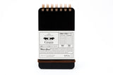 Grain Memo Pad Black