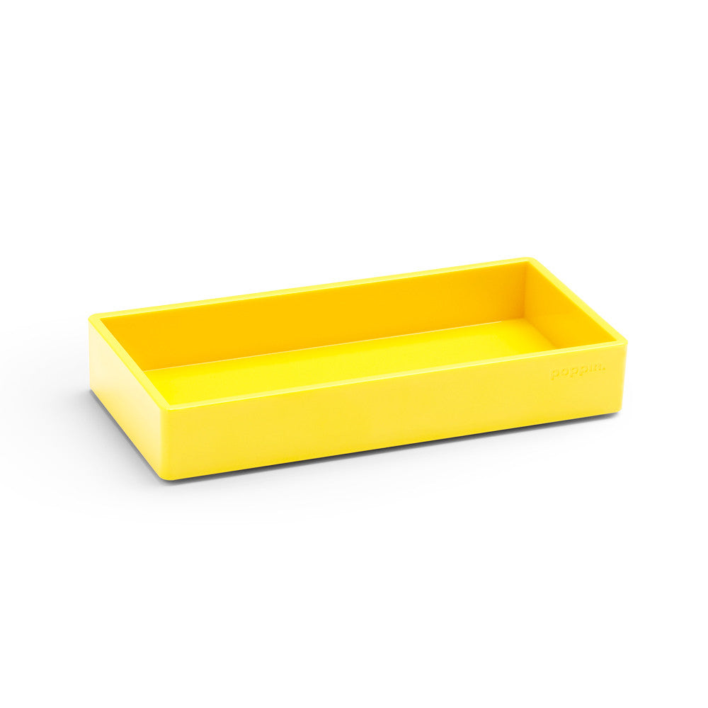 xPoppin Small Accessory Tray: Yellow