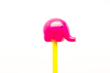 elephant sharpener - pink