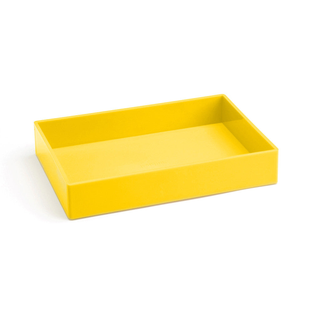 Medium Accessory Tray: Yellow