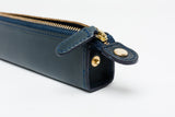 Slip-On Rio Zipper Pen Case Small - Navy