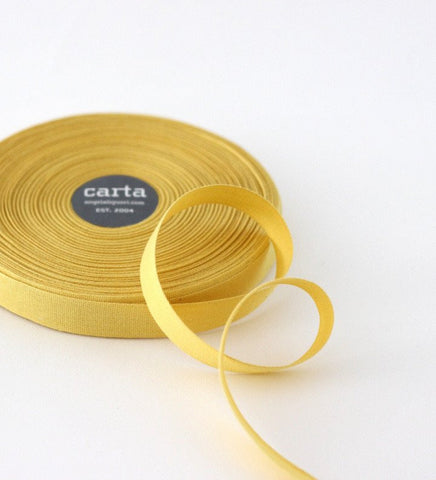 Lemon Tight Weave Ribbon