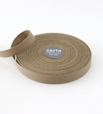 Sand Weave Cotton Ribbon