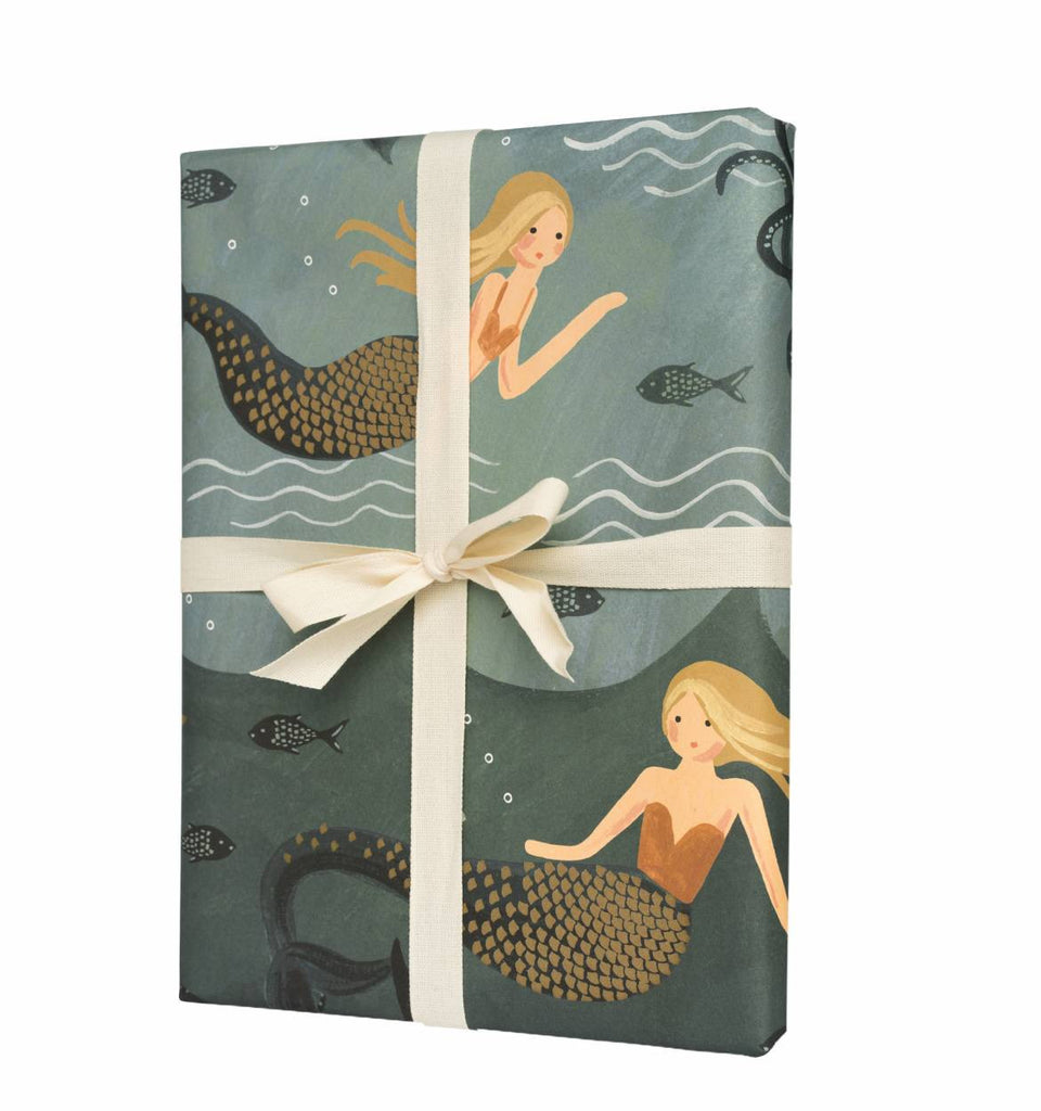 Single Mermaid Wrapping Sheet