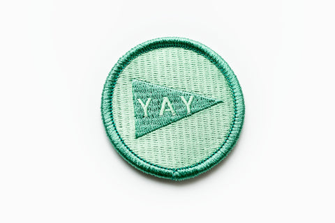 Yay Pennant Patch