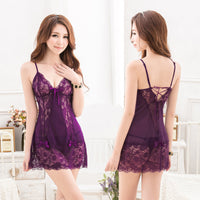 Lace sexy nightdress