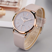 Luxury Brand Leather Quartz Women's Watch Ladies Fashion Watch Women Wristwatch Clock relogio feminino hours reloj mujer saati