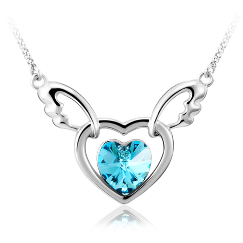 heart wings goldinlove swarovski
