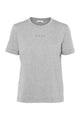 Logo tee - Light grey melange