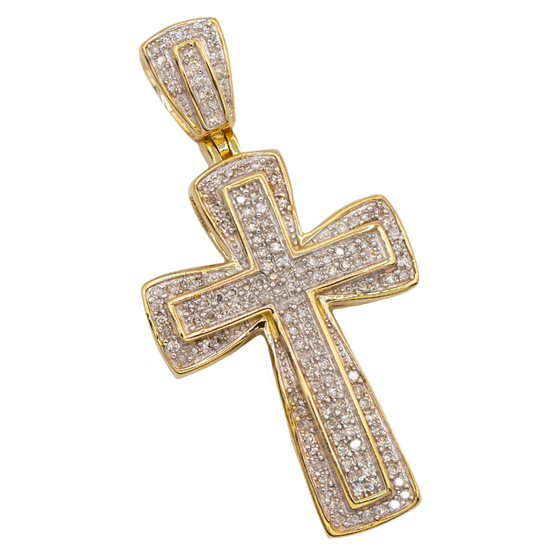 CRUZ CON DIAMANTES