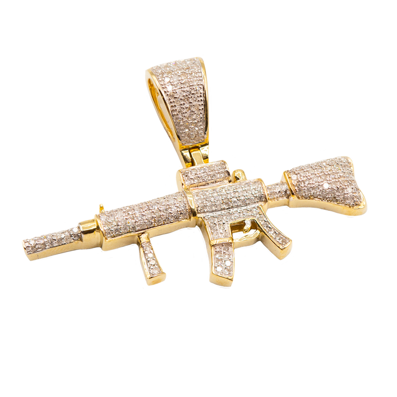 AR-15 CON DIAMANTES