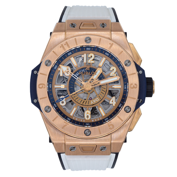 HUBLOT BIG BANG  ÚNICO GMT KING GOLD